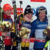 Nahá biatlonistka Gabriela Koukalová