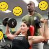 Skrytá kamera: Ou! Sportovkyni vypadávají ňadra z výstřihu a sportovcům oči z důlků