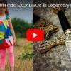 LEGENDÁRNÍ EXCALIBUR? Britská dívka objevila v jezeře meč