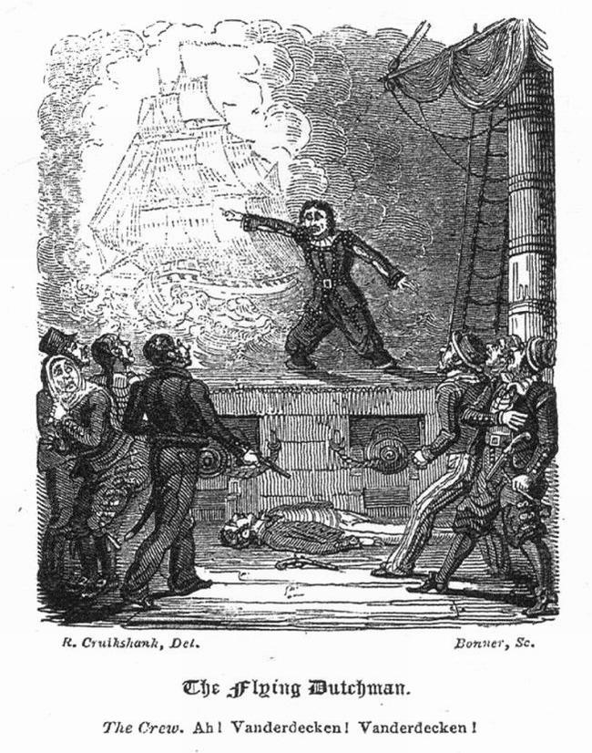 OBR: Edward Fitzball - Létající Holanďan (1829)