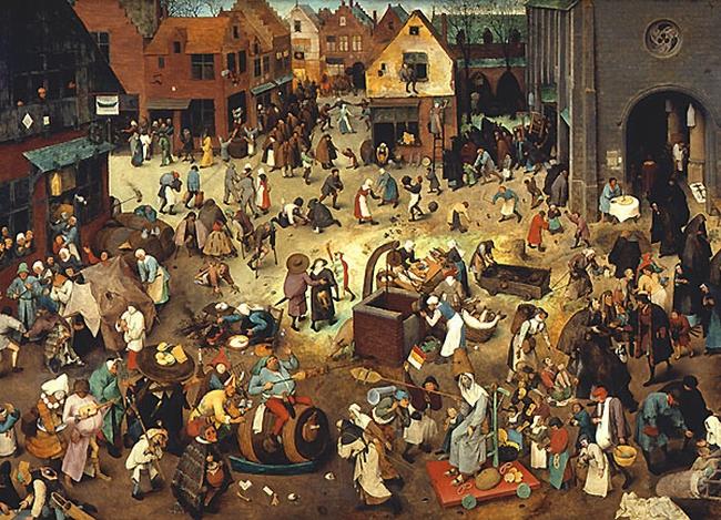 Pieter Bruegel Kampf