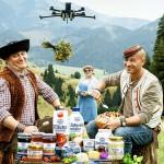 """Legendární reklamy: """"Mamička"""" s dronem"""