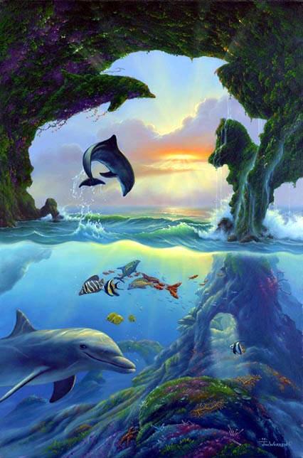 7 delfínů
