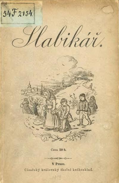 Slabikář_pro_školy_obecné_1899,_obálka
