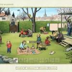 Velikonoční kalendář Lucie Lomové