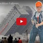 Děs, běs, katastrofy: Zpackané demolice výškových budov