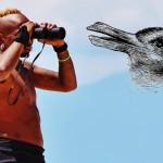 Optický klam: Vidíte kachnu nebo králíka?