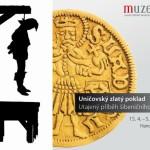 Zlatý poklad z uničovského šibeničního vrchu je k vidění v Olomouci