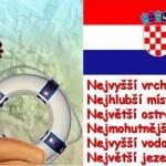 Nej, nej místa v Chorvatsku