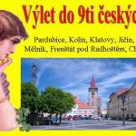 Výlet do 9ti českých měst