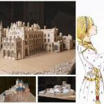 """Soutěž """"Stavba z vlnité lepenky"""" vyhráli studenti s modelem zámku Lednice"""