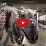 Skrytá kamera: Tyrannosaurus v garáži