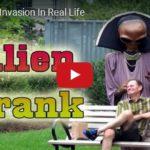 Skrytá kamera: Invaze mimozemšťanů v přímém přenosu