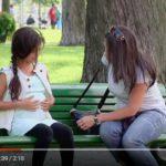 Skrytá kamera: Těhotná holčička