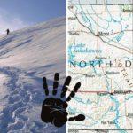 Sněžný muž v Severní Dakotě: svědek ho stopoval 11 km…