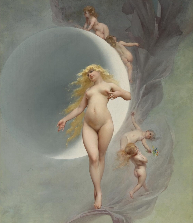 Luis_Ricardo_Falero_-_The_Planet_Venus
