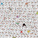 Hlavolam: Najdete na obrázku Pandu? Mnozí z úkolu skoro zešíleli :-)