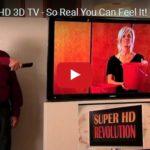 Tahle televize je tak 3D, až budete mít mokro za krkem :- )