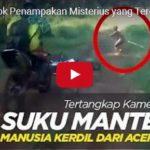 HOLOHLAVÝ TRPASLÍK Z PRALESA: utíkal před motorkáři na Sumatře