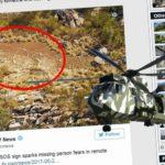 """NÁPIS """"SOS"""" V AUSTRALSKÉ PUSTINĚ odstartoval vlnu spekulací"""