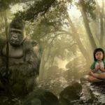 Gorila útočí na turisty! (skrytá kamera)