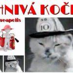 """""""OHNIVÁ KOČKA"""" – archiváři našli video se slavným hasičským maskotem"""