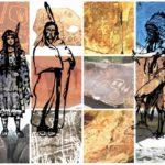 Putování za archeoastronautickými petroglyfy v USA